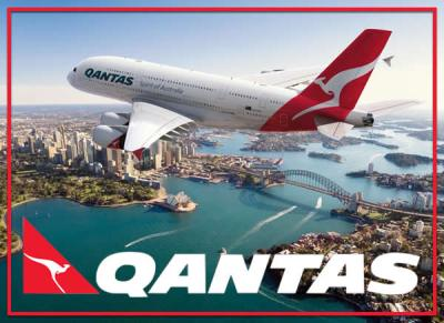 صورة طائرة استرالية تحقق اول رحلة طيران دون توقف من نيو يورك الى سدني