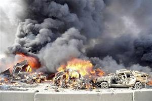 Photo of سوريا:سقوط عشرات القتلى والجرحى بانفجارين بدمشق