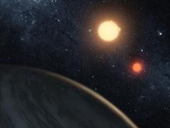 صورة فلكيون يكتشفون نجمين قريبين من المحيط الكوني