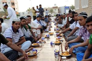 صورة الخيام الرمضانية في الامارات عنوان للعطاء والتراحم خلال شهر رمضان المبارك