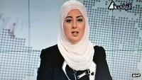 صورة ظهور اول مذيعة محجبة لتلفزيون مصر الرسمي