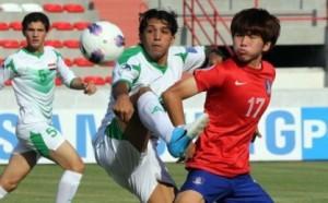 صورة شباب العراق يهدرون فوزا ثمينا على كوريا الجنوبية