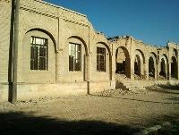 صورة تدمير قصر الشيخ خزعل آخر الأمراء العرب في الأحواز