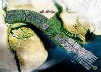 صورة أحالة مشروع كاسر الامواج في ميناء الفاو الكبير إلى شركة يونانية