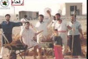 صورة غدا الخميس تظاهرة لعراقيين  احتجزوا في مخيم رفحاء امام السفارة العراقية في كانبرا للمطالبة بحقوقهم
