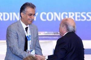 صورة سلمان آل خليفة رئيساً للاتحاد الاسيوي لكرة القدم