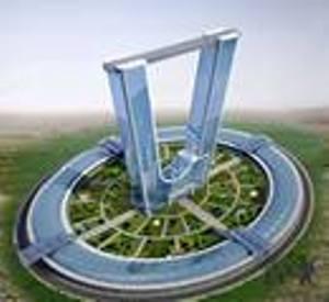 صورة مهندس عراقي  يتحدى الدراسات وينجز تصميماً هندسياً لصرح ناطح للسحاب بأرقام قياسية عالمية