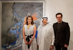 صورة الكويت تستضيف معرض الفنان المغترب محمد سامي