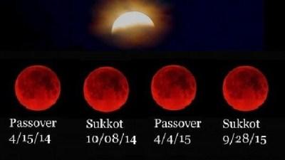 صورة اليوم خسوف نادر لقمر عملاق