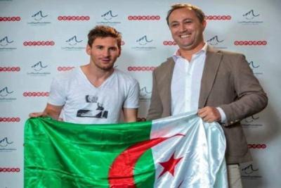 صورة ميسي يزور الجزائر