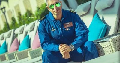 صورة فريد لفته أول عراقي يتسلق قمة أيفريست ويقفز فوق قمتها