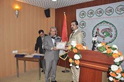 صورة الاتحاد الدولي للصحافة العربية فرع العراق يكرم رواد الصحافة البصرية