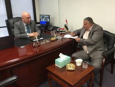 """صورة """" وطن برس """" في ضيافة القنصل العام للعراق في سدني"""