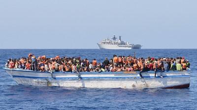 صورة وفاة 113 مهاجرا بتحطم قوارب متجهة من ليبيا لإيطاليا