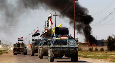 صورة بدء تحرير الموصل بعد استعادة القسم الأكبر من الفلوجة