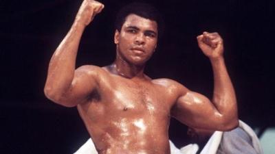 صورة وفاة أسطورة الملاكمة محمد علي كلاي