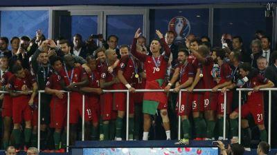 صورة البرتغال تحرز بطولة أمم اوربا لاول مرة في تاريخها الكروي
