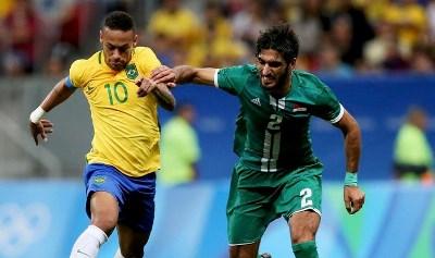صورة تعادل بطعم الفوز للعراق أمام البرازيل في أولمبياد ريو 2016
