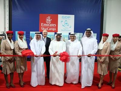 صورة الامارات تشهد أفتتاح أول وأكبر منشأة في العالم للشحن الجوي