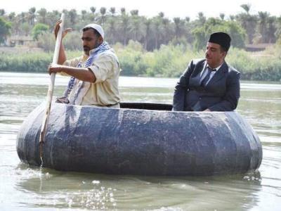 صورة فيلم (بغداد خارج بغداد) لوحات بصرية من الحنين