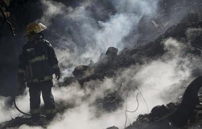 صورة أسرائيل تعلن سيطرتها على حرائق الغابات في مدينة حيفا