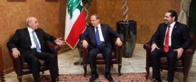 صورة أول وزيرة محجبة في حكومة الحريري ورجل لشؤون المرأة!