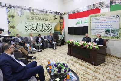 Photo of مركز تراث البصرة يستضيف غازي فيصل حمود للتحدث عن دور المكتبات في ثقافة المجتمعات