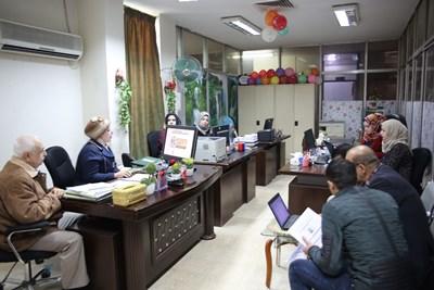 """صورة ورشة عمل """"التوثيق الإعلامي عبر الأنترنت"""" في دار الكتب والوثائق العراقية"""