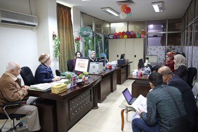 "Photo of ورشة عمل ""التوثيق الإعلامي عبر الأنترنت"" في دار الكتب والوثائق العراقية"