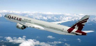 صورة طائرة قطرية تحطم الرقم القياسي لاطول رحلة جوية
