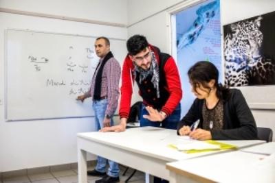 صورة تعليم اللغة العربية في سويسرا للناطقين بالفرنسية
