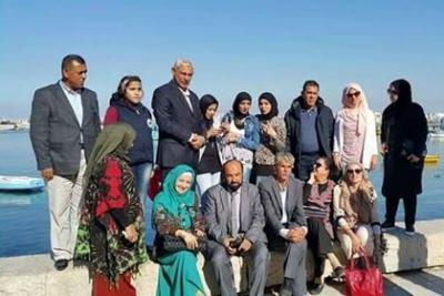 صورة أدباء وصحفيون عراقيون يحصلون على مراكز متقدمة في مهرجان عربي بمصر