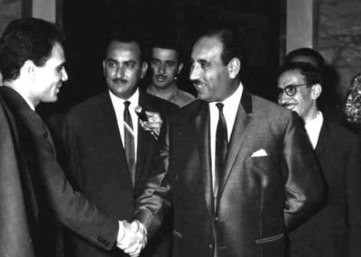 صورة في ذكرى رحيله الأربعين: عبد الحليم حافظ ببغداد