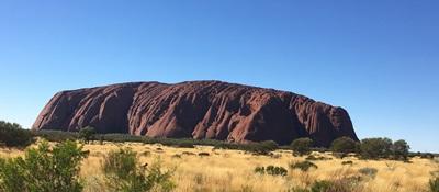صورة صخرة أرلورو أسطورة الأبورجينز في الشمال الاسترالي