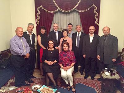 صورة السفير الاسترالي في بغداد : استراليا مع عراق فيدرالي موحد تسود فيه قيم الديمقراطية واحترام القانون