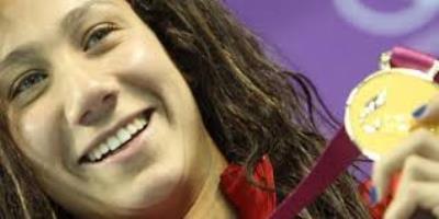 صورة قصة أنجاز أول سباحة مصرية تدخل التاريخ!
