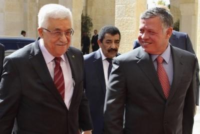 صورة العاهل الأردني عبد الله الثاني يزور فلسطين
