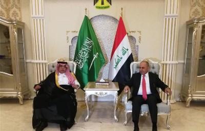 صورة العراق والسعودية ماضيان لتحقيق الشراكة الاستتراتيجية في المجالات الاقتصادية والتجارية والاستثمارية