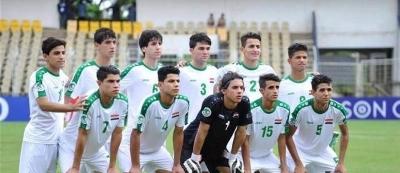 صورة فوز منتخب العراق  للناشئين على النيبال في تصفيات بطولة اسيا