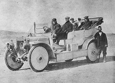 صورة حكاية أول سيارة تدخل العراق؟