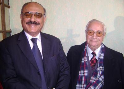 صورة من ذاكرة الزمن / ناظم الغزالي ونوري السعيد في ليلة مقام !