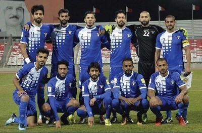 صورة خروج الكويت من منافسات خليجي 23  وقطر تواجه العراق اليوم