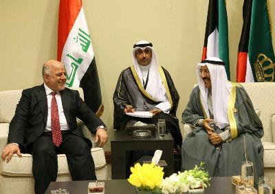 صورة مصادر لـ (وطن برس): (عبد العزيز) جاسوس الكويت في مكتب العبادي!