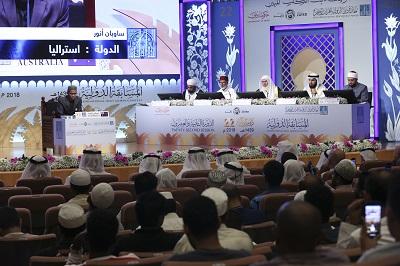 صورة منافسة قوية لمتسابقي جائزة دبي الدولية للقرآن الكريم