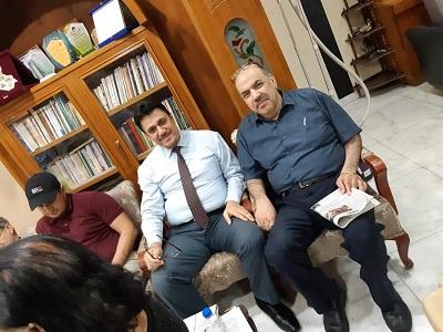 صورة محاضرة عن قضايا الترجمة للاستاذ الدكتور كاظم خلف العلي