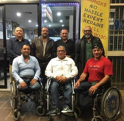 صورة الجالية العراقية في استراليا تحتفي بأبطال العراق في الماراثون