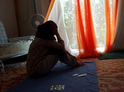 صورة اللاجئين المحتجزين في ناورو وبابوا غينيا الجديدة  يعانون من وضع صحي بائس