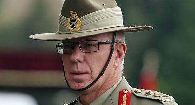 صورة تعيين الجنرال المتقاعد ديفيد هيرلي حاكمًا عامًا لأستراليا