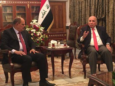 صورة المالية ونقابة  الصحفيين العراقيين تتفقان على الية مناسبة لصرف المكافات التشجعية للصحفيين والمثقفين