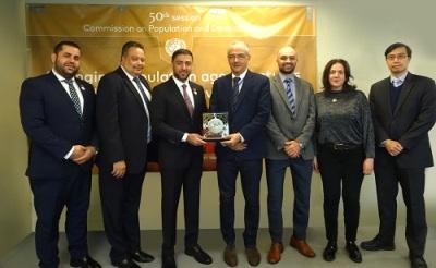"""صورة مجلس الوحدة الاقتصادية العربية في جامعة الدول العربية  يتبنى  مبادرة """" رؤية عربية مشتركة للاقتصاد الرقمي """""""